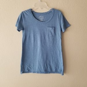Relaxed Pocket TShirt in Blue